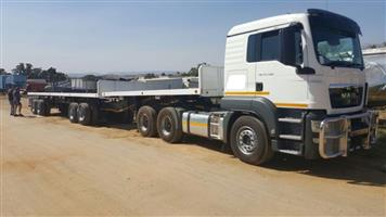 MAN 27.480 Truck & Trailor for sale