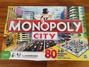 Monopoly city game for sale
