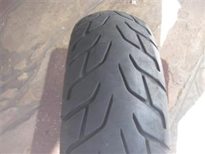x 2 Used Bike Tyres - R200 to R350