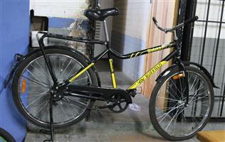 Qhubeka black bicycle S032326A #Rosettenvillepawnshop