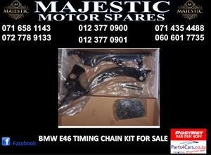 Bmw E46 timing chain kit for sale