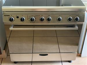 Telefunken 5 burner gas stove and electric rotisserie oven