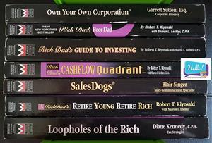 7 book set Robert Kiyosaki