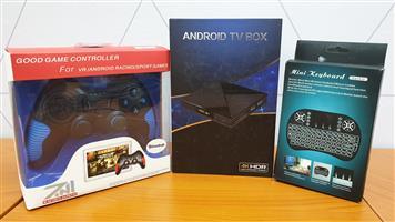 Android TV Box Gaming Bundle
