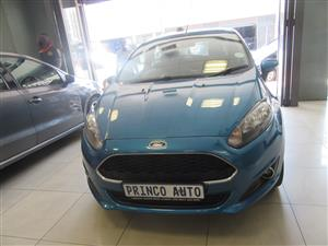 2016 Ford Fiesta 1.4 5 door Trend
