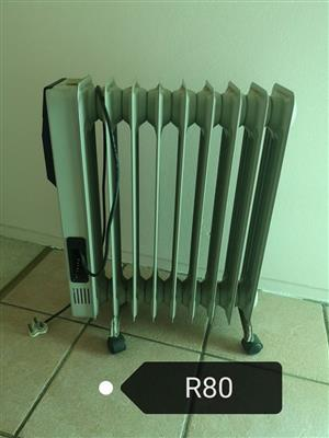 Oil heater for sale.