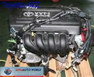 Imported used  TOYOTA COROLLA/RUNX 140/ AURIS 1.4L, 4ZZ engine Complete