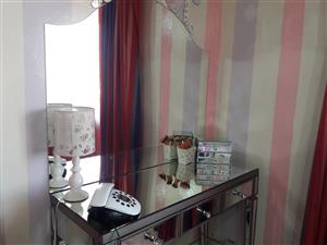 Mirror Dressing Table With 3 draws.