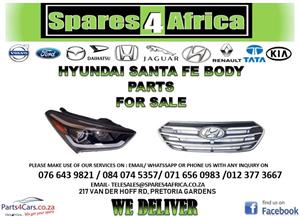 HYUNDAI SANTA FE BODY PARTS