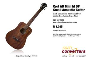 Cort AD Mini M OP Small Acoustic Guitar