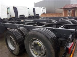 14 x 2014 model Renault 380 dci chassis
