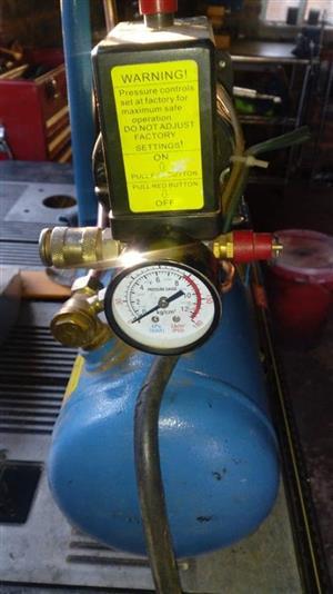 Blue compressor for sale