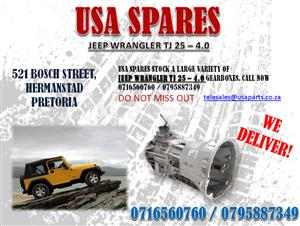 JEEP WRANGLER TJ 2.5 – 4.0 GEARBOXES