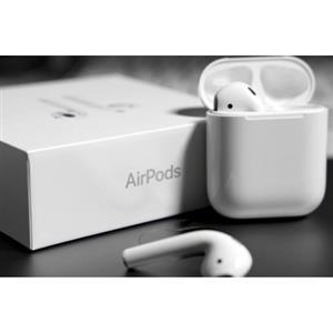Original Apple Airpods.