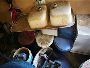 toilets and wash basins