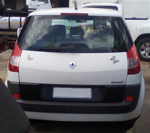 Renault Scenic Boot Lid