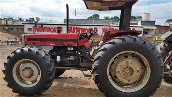 Red Massey Ferguson (MF) 399 4x4 Pre-Owned Tractor