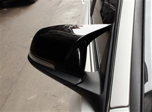BMW M Style Mirror Covers (Series 1, 2, 3 & 4) - Gloss Black