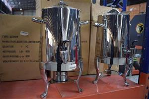 Stainless steel coffee servers for sale