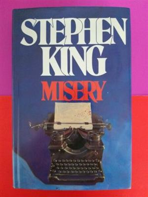 Misery - Stephen King.