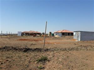 Why delay?  Own land in Moloto and build your dream family house