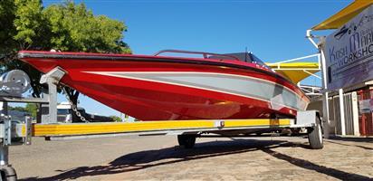 Scimatar 160 ski boat 85 yamaha