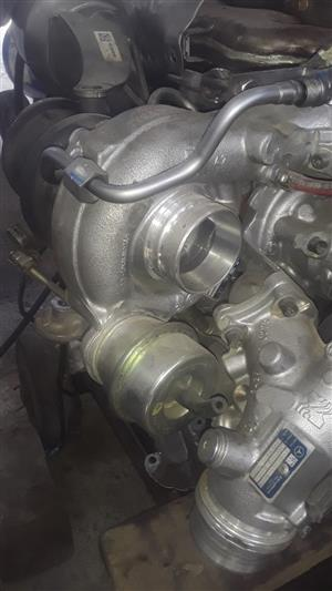 Mercedes-Benz c250 engine parts and turbo