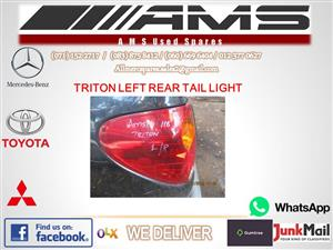 MITSUBISHI TRITON LEFT REAR TAIL LIGHT FOR SALE