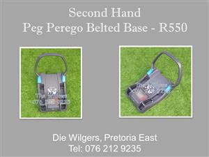 Second Hand Peg Perego Belted Base