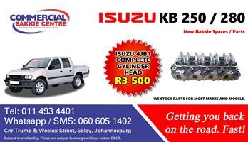 isuzu 4jb1 cylinder head complete