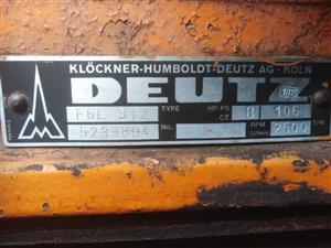 Deutz Mobile Compressor