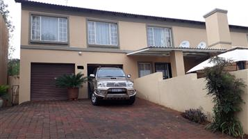 Must see 3 bedroom townhouse in La Montagne Pretroria East