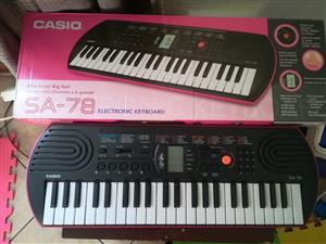 Casio SA-78 Electronic Keyboard (For Kids)