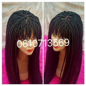 LACE PART FRINGE WIGS AND MORE