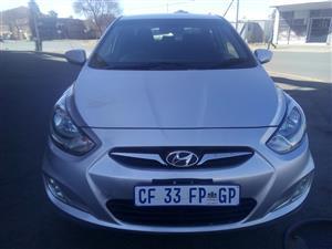2012 Hyundai Accent sedan 1.6 Fluid auto