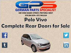 VW Polo Vivo Complete Rear Doors for Sale