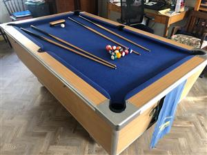 Hansworth Pool Table (Union Billiards) for sale