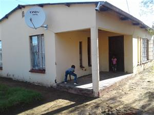 3 Bedroom house in wepener north of free state