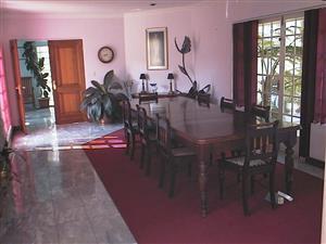 Antique Boardroom/Dining Walnut Table
