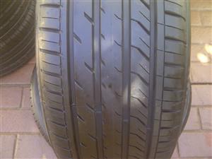 2xDavanti DX640 tyres 255/45/18,Brand new!!