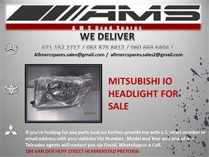 MITSUBISHI IO HEADLIGHT