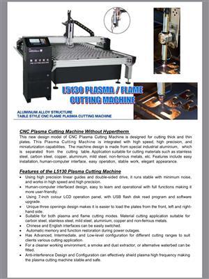 Plasma/Flame Cutting Machine