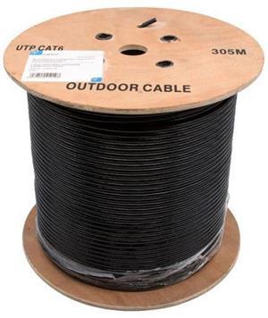 LANCABLE-CAT6E-500M UTP CAT6 Copper Coated Aluminum Core 600m Network