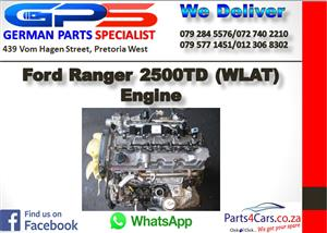 Ford Ranger 2500TD (WLAT) Engine for Sale