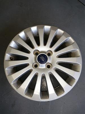 OEM Ford Fiesta 15 inch rims