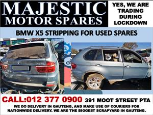 Bmw x5 used spares for sale stripping for spares