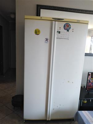 Defy double door fridge for sale