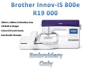 Embroidery machine & Sewing Machine dealers   PTA East  Brother Elite