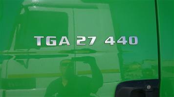 2009 MAN TGA 27440 Truck/Horse