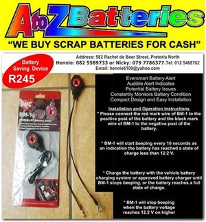 Taxi Batteries- A wide range of New Batteries available at